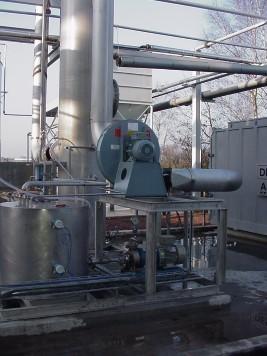 Phenol air scrubber