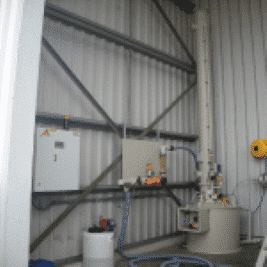 Equipment voor water- en luchtzuivering en geurbestrijding