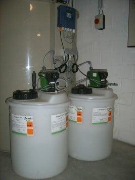 Neutralisation des eaux usées de laboratoire