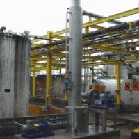 Laveur d'air pour séparation de solvants
