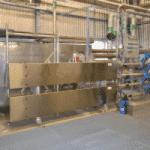 Heat exchanger space saving