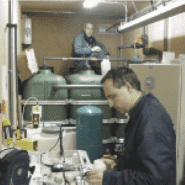 Recyclage de l'eau de décharge