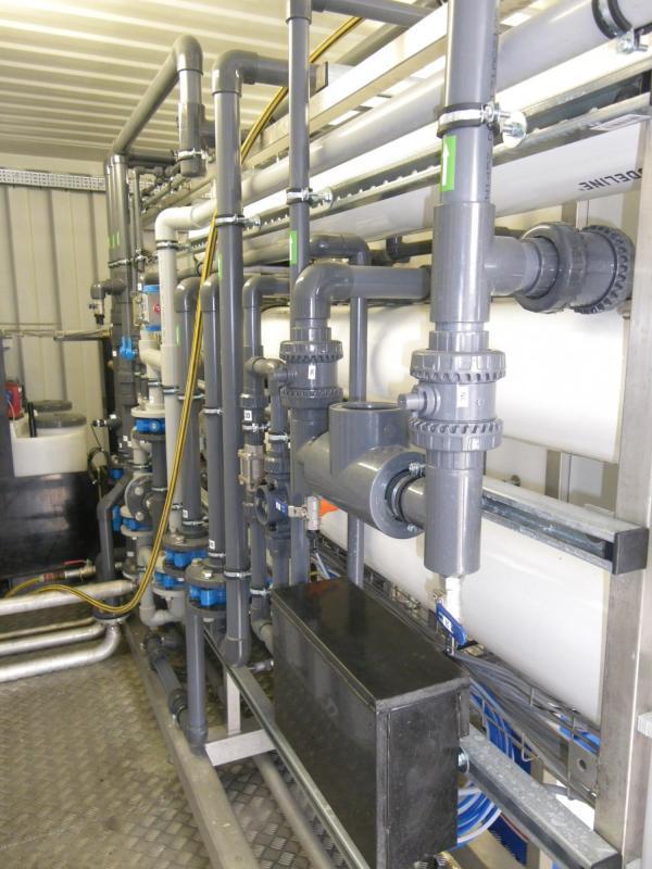 Waterrecuperatie wasserij