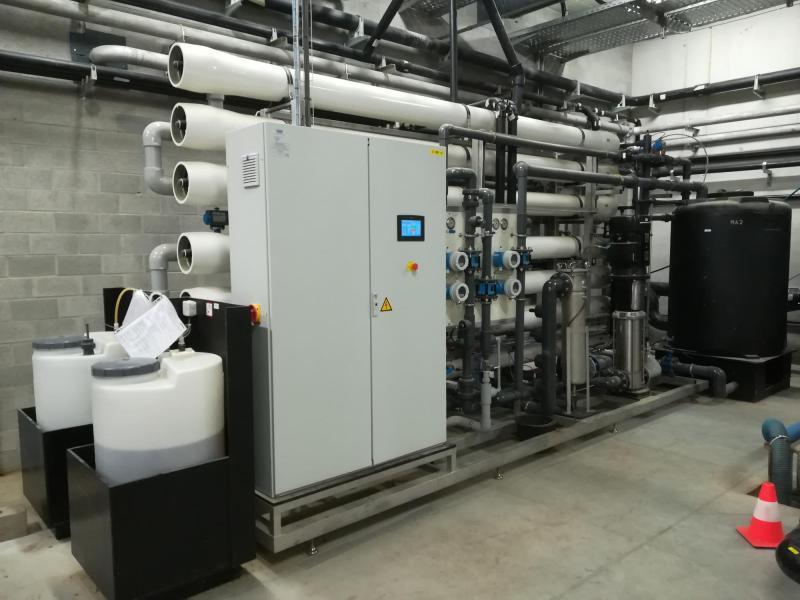 Waterrecuperatie - membraanfiltratie