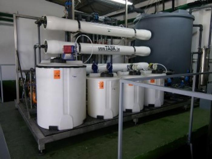 Proceswater behandeling membraanfiltratie Caradon Radiators