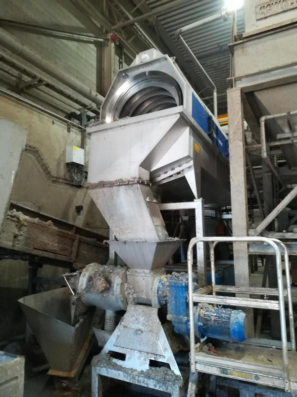 Roto-Sieve proceswater