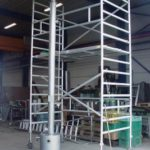 Tank scrubber stainless steel