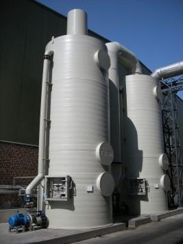 Air scrubbers Oilmills