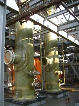 Biofuel scrubbers