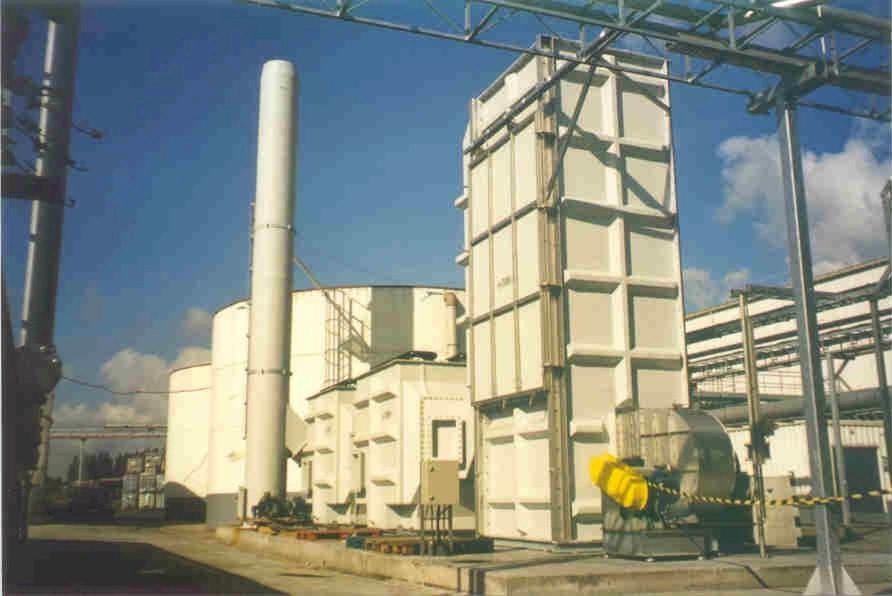 Emission treatment Shanks