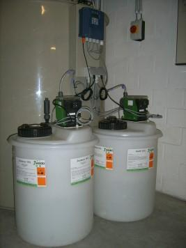 Lab wastewater neutralization