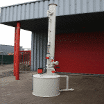Laveur de gaz NH3