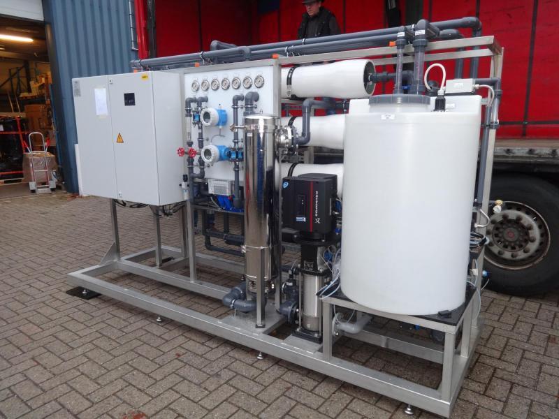 Récupération d'eau industrie cosmétique