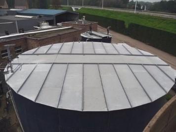 Couverture de bassins en polyester