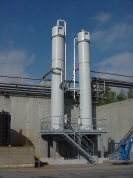 Désulfuration de biogaz Lutosa