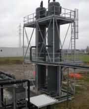 Désulfurisation de biogaz