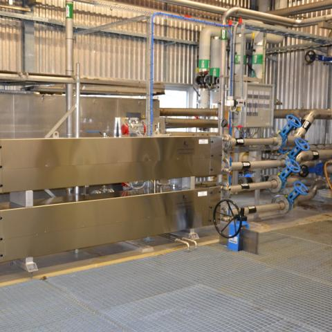 waterzuivering equipment en luchtzuivering equipment
